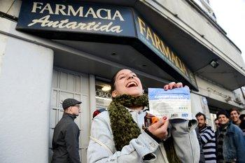 Uruguay habilitó la venta de marihuana en farmacias, en 2017.
