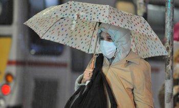 Inumet emitió una advertencia por lluvias muy fuertes y tormentas