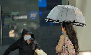 Sábado con lluvias en casi todo el país.