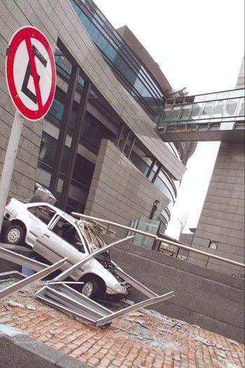 Un temporal muy intenso deja destrozos, en 2005.
