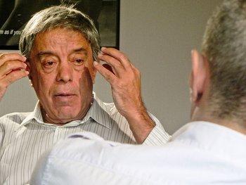 Entrevista a Amodio Pérez en Madrid, en 2013.