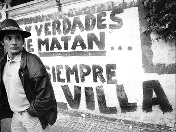 Muerte de Villanueva Saravia, en 1998.