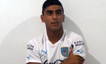 Facundo Torres reveló en 2015 quién era su jugador preferido en la selección uruguaya