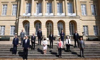 Los miembros del G7 quieren una tasa impositiva mínima global