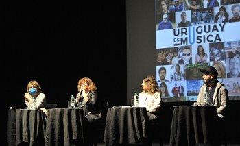 El colectivo Uruguay es música dio este lunes su primera conferencia de prensa