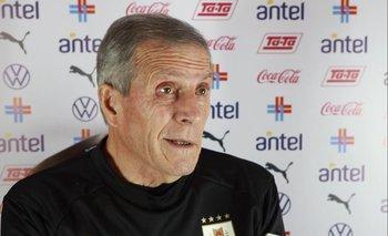 Óscar Tabárez brindó una conferencia de prensa en Caracas, el día previo a enfrentar a Venezuela por las Eliminatorias para el Mundial de Catar 2022