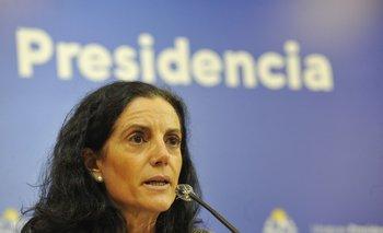 La ministra Azucena Arbeleche encabezó la conferencia junto a su par Martín Lema