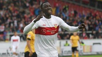 El delantero congoleño marcó 11 goles en la Bundesliga
