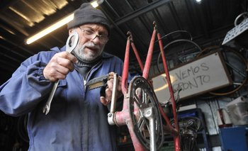 Liberá tu bicicleta se estableció en 2013 y desde 2015 funciona en el Velódromo Municipal