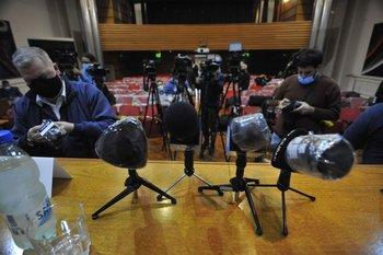 La ley de medios está a estudio del Parlamento desde abril de 2020