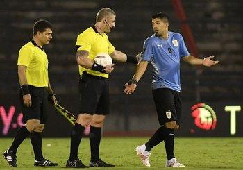 Suárez y el reclamo a Daronco