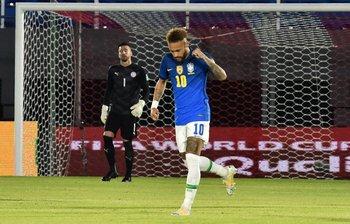 Gol de Neymar, Brasil llegará favorito a la Copa América