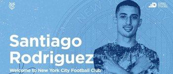 Santi Rodríguez en NYCFC