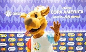 Pibe, la mascota de la Copa América