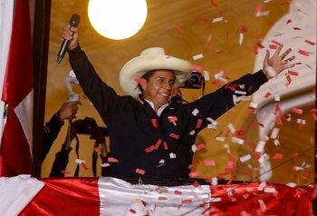 Castillo ganó las elecciones en Perú por poco margen