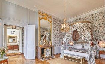 Una de las habitaciones del hotel, cuyos precios por noche superan los US$ 2000