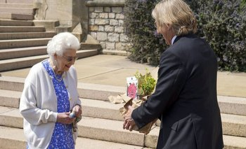 """""""Se ve hermosa"""", dijo la Reina"""