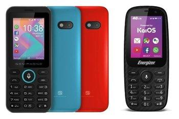 Modelos de celulares con el sistema operativo KaiOS.