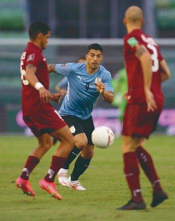 La suerte no acompañó a la selección uruguaya contra Paraguay y Venezuela