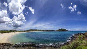 Mandalika está ubicado cerca de la isla de Bali