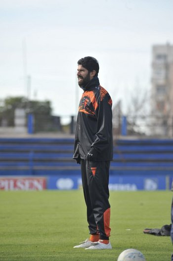 Sebastián Abreu en su último partido