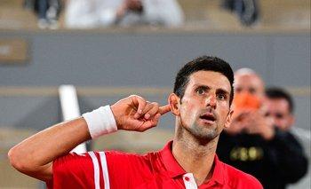 Djokovic celebró el triunfo ante Nadal y es finalista