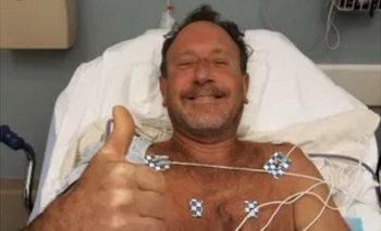Michael Packard en el hospital