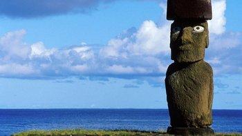 La medicina surgió de aislar microorganismos de la tierra de Isla de Pascua.