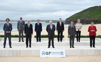 Estos mandatarios concurrieron a la reunión del G7