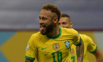 Neymar, carta de gol