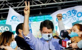 Claudio Orrego venció en Santiago, una de las gubernaturas más disputadas en el balotaje