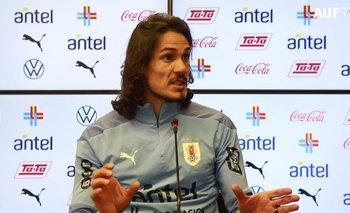 Edinson Cavani habló de su futuro en la selección uruguaya y de la Copa América