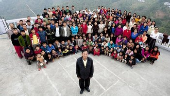 Se cree que Chana encabezaba la familia más grande del mundo