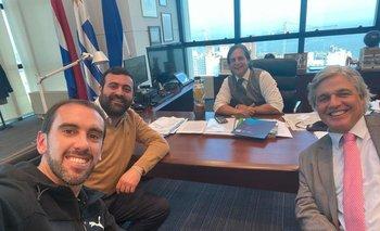 La reunión en la Torre Ejecutiva.