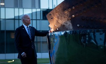 Presidente estadounidense, Joe Biden en la cumbre de la OTAN