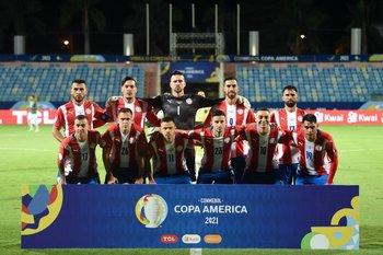 El equipo de Paraguay