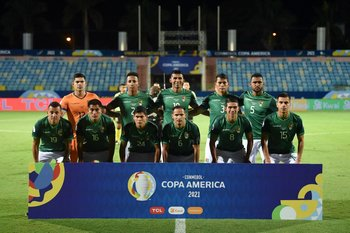 El equipo de Bolivia