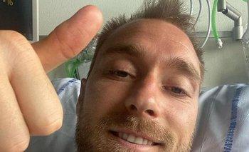 Eriksen dejó el hospital
