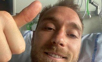 La foto que subió Christian Eriksen a su Instagram
