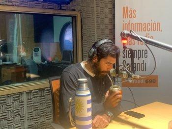 Sebastián Abreu relató en radio su penal ante Ghana en Sudáfrica 2010