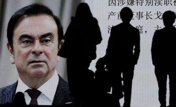 Ghosn fue acusado de graves delitos financieros en Japón
