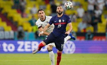 Karim Benezema en su vuelta a la selección gala