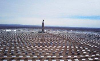 Primera planta de energía solar en Chile