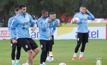 Maxi Gómez, De La Cruz y Jonathan Rodríguez