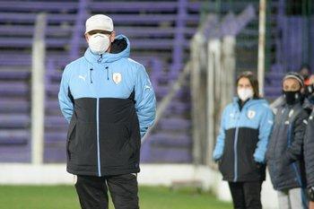 Ariel Longo, técnico de la selección femenina de Uruguay