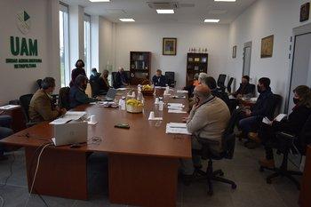Primera sesión del directorio de la UAM.