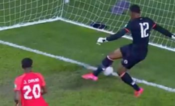 Josué Duverger se hizo un gol increíble defendiendo a Haití ante Canadá por Eliminatorias