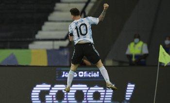 Lionel Messi comenzó con un golazo en la Copa América frente a Chile