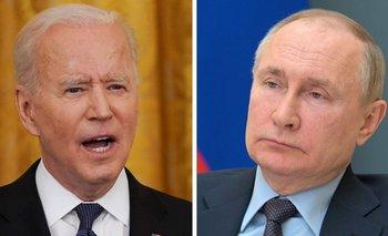 Se trata de la primer reunión que mantienen Biden (izquierda) y Putin