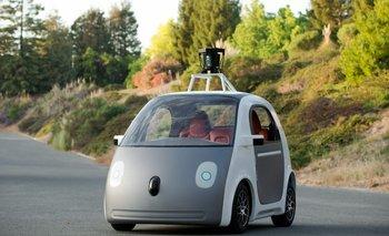 El prototipo del auto sin conductor de Google.